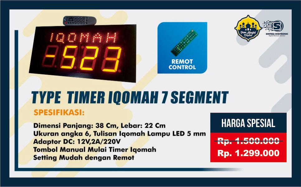 Jam Timer Iqomah